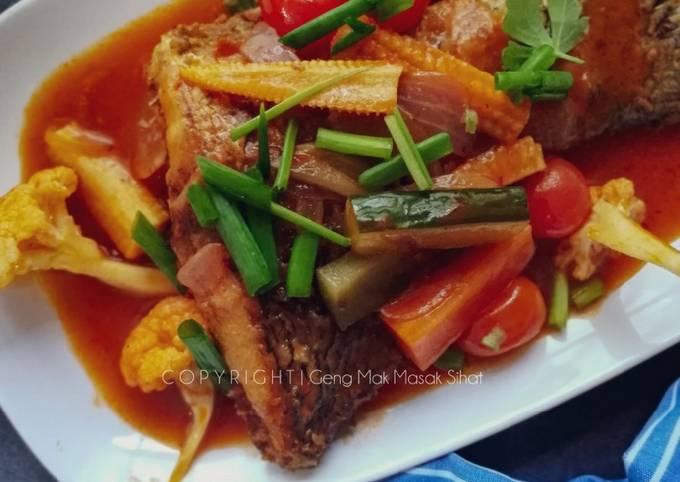 Ikan Masam Manis Thai Style
