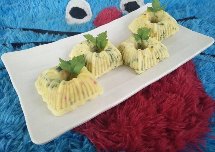 [menu diet] bakwan jagung kukus