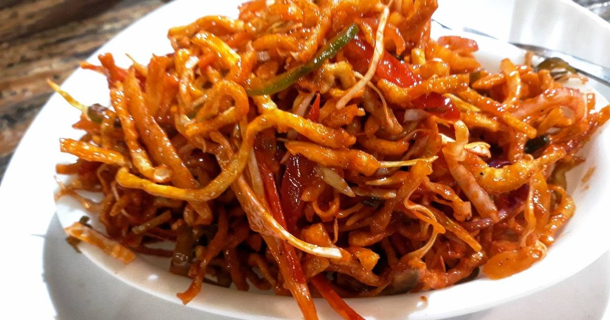 "Image result for chinese noodles bhel pic"",nari"