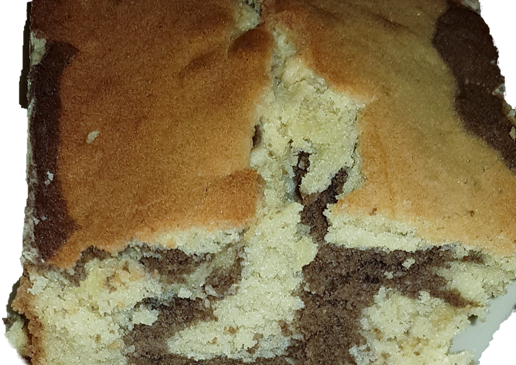 15 Minute Steps to Make Blends Chocolate marble pound cake