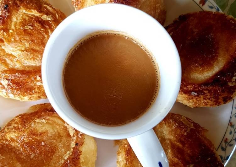 Easiest Way to Prepare Speedy Bakarkhani with chai