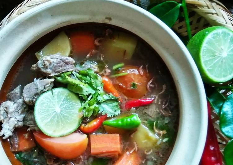 Resipi Sup Daging Ala Thai Oleh Sarmila Sharif Cookpad