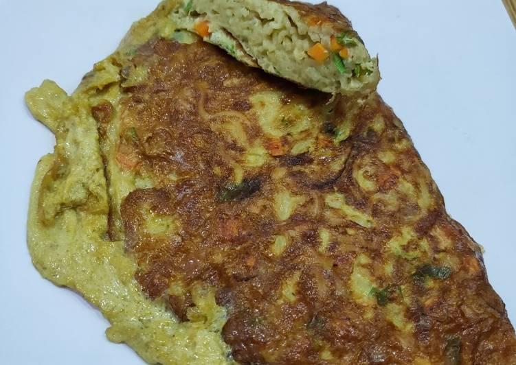 Omelette Mie Sayur