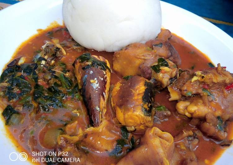 Why Most People Fail At Trying To Pounded yam with ogbono soup