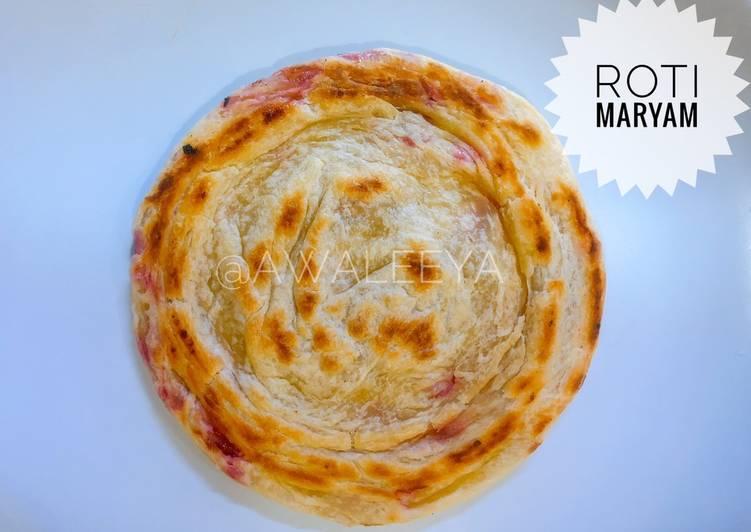 Cara Memasak Roti Maryam bahan sederhana