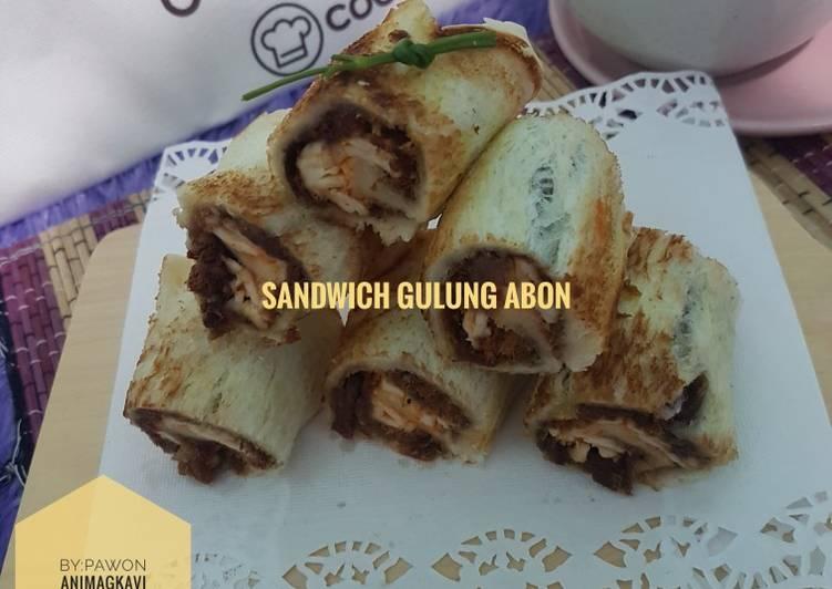 80# Sandwich gulung abon