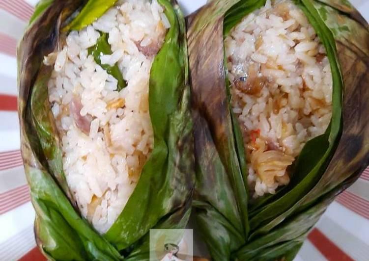 Nasi Bakar Ikan Peda