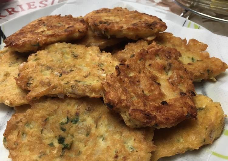 recette Pataniscas le délicieux