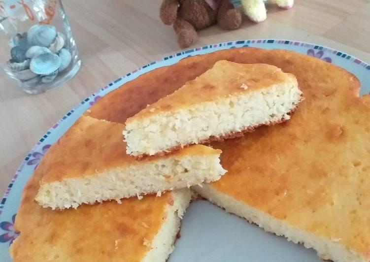 Recette Savoureux Gâteau coco citron