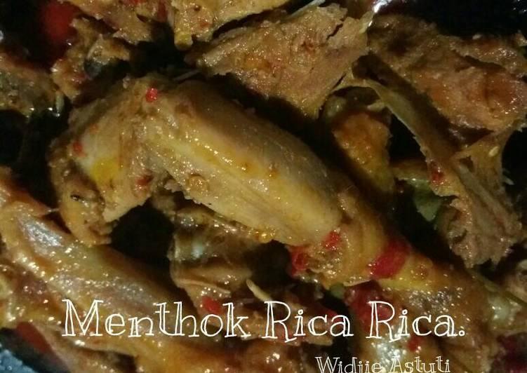 Menthok Rica Rica