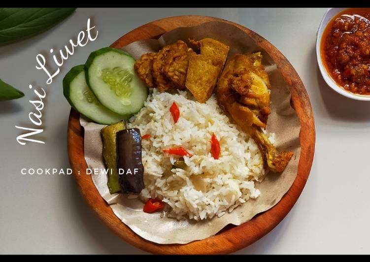 Nasi liwet (mix beras)