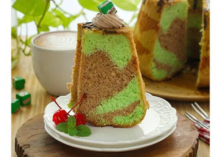 Resep Pandan Milo Chiffon Cake Oleh Moms2a Cookpad