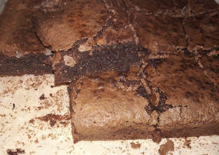 My gluten free choc brownies