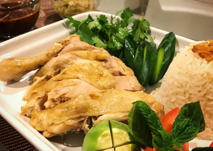 Khao Man Gai (Nasi Ayam Thailand)