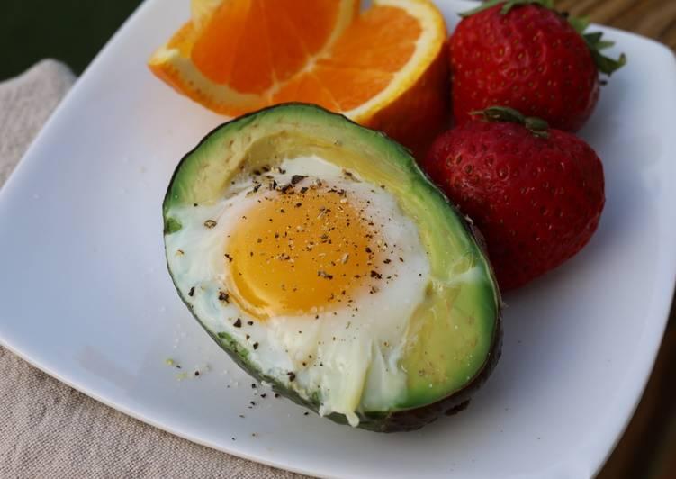Egg in an avocado :)