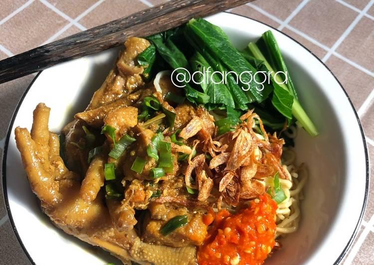 Mie Ayam Homemade 🤍