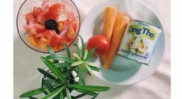 Hình ảnh món Sinh tố cà rốt*cà chua