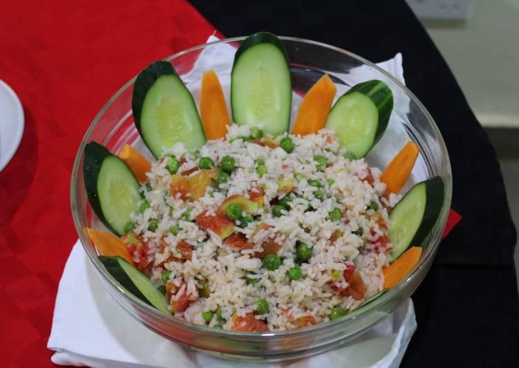 Recipe: Tasty Rice Salad