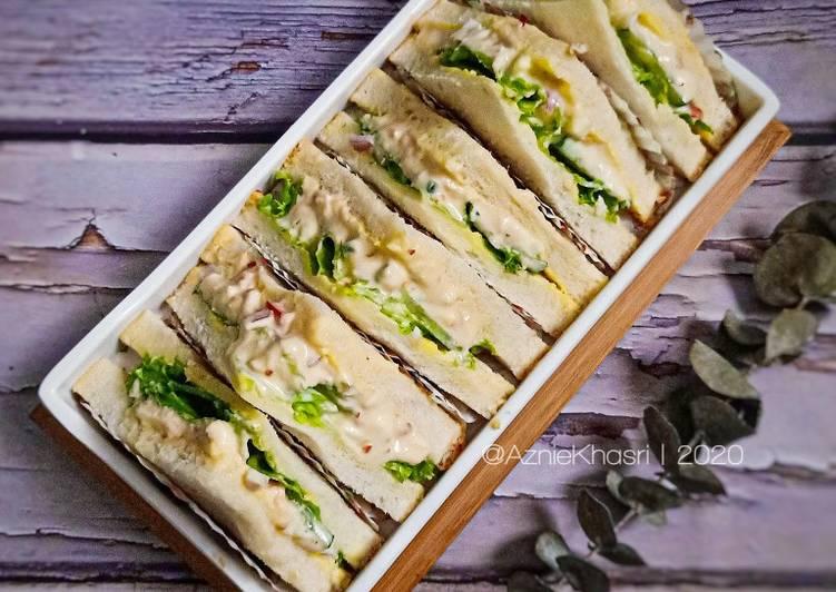 Resepi:  Sandwich Tuna Lover  Termudah