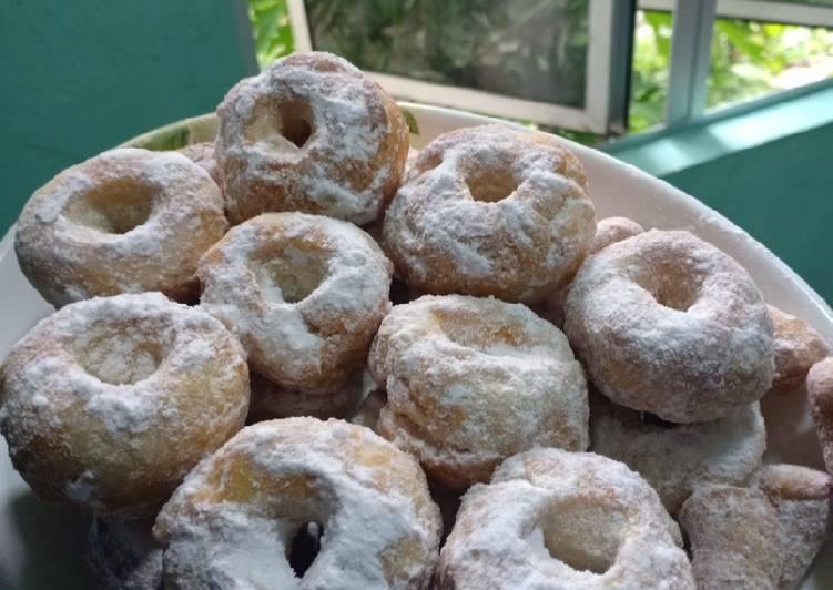 Cara Mudah Masak: Donut gebu by bella  Termudah