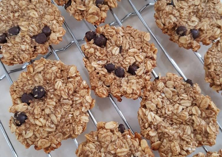 Banana chewy cookie