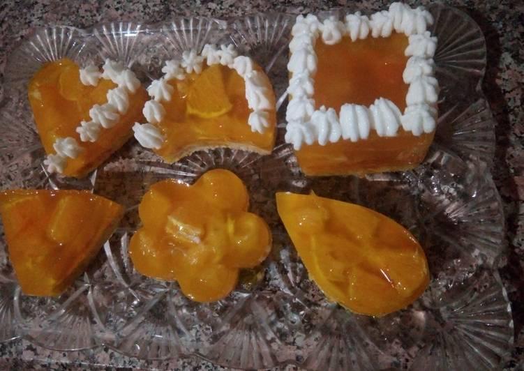 Recette aux oranges