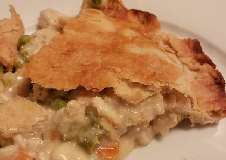 Chicken Pot Pie, Helping Your To Be Healthy And Strong with The Right Foods