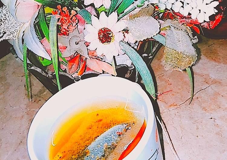 Recipe: Perfect Cardamom lemon green tea