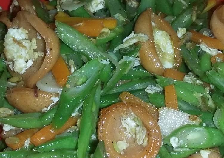 Resep Tumis buncis wortel telur dan sosis, Sempurna
