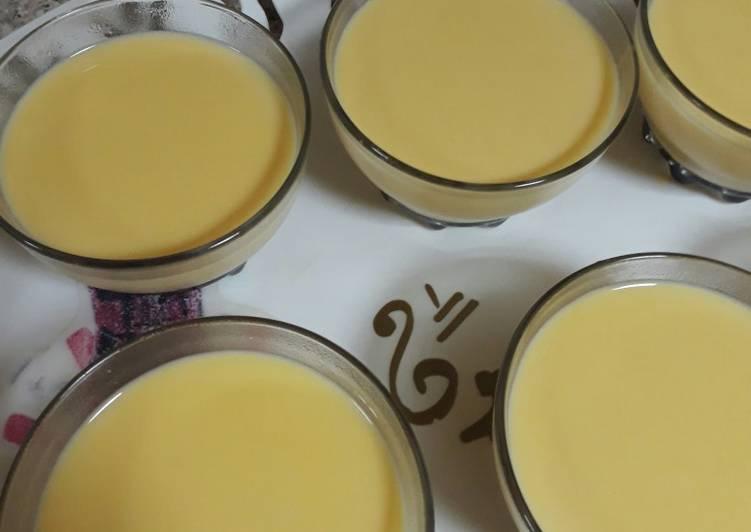 Cream caramel (simple&easy)