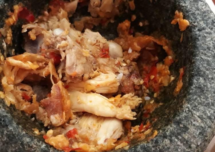 Ayam geprek #bikinramadhanberkesan