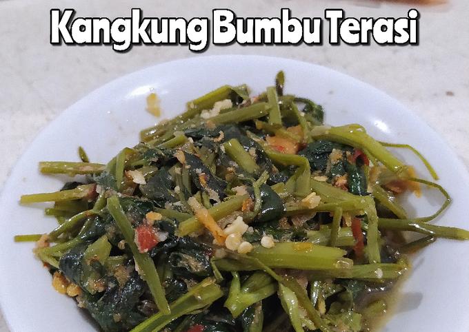 kangkung bumbu terasi - resepenakbgt.com