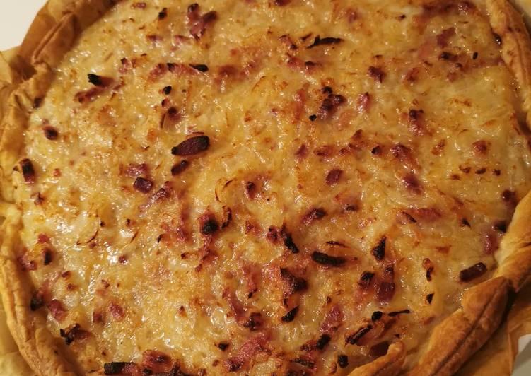 Comment pour faire Parfait Tarte à l oignon des Cevennes