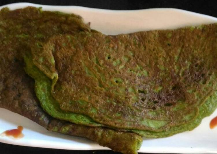 Foods That Can Make You Happy Leftover Rice & Sprouted Moog Dosa