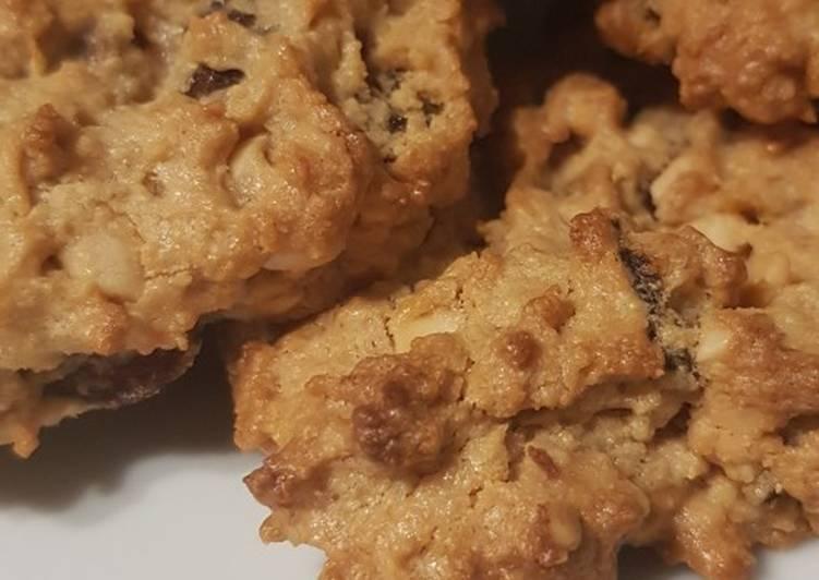 Steps to Make Ultimate Gluten-free peanut raisin cookies