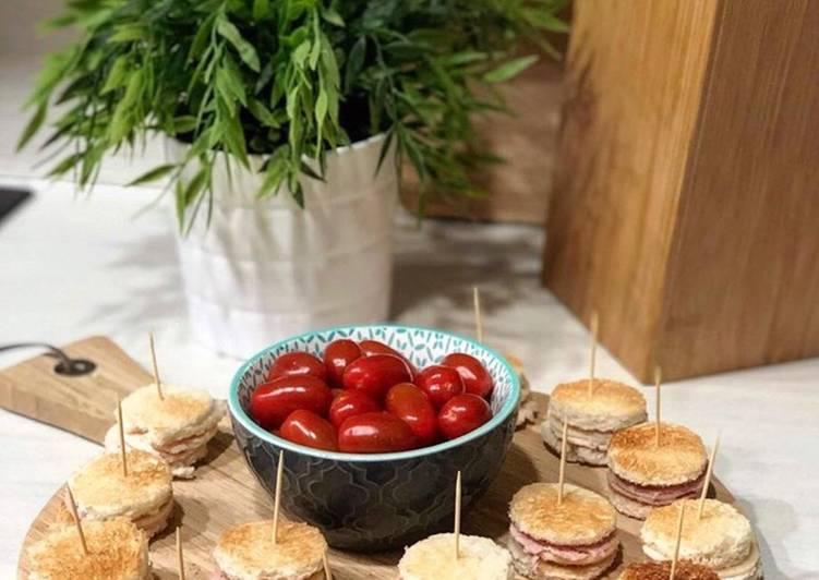 Mini sandwich Jambon/fromage