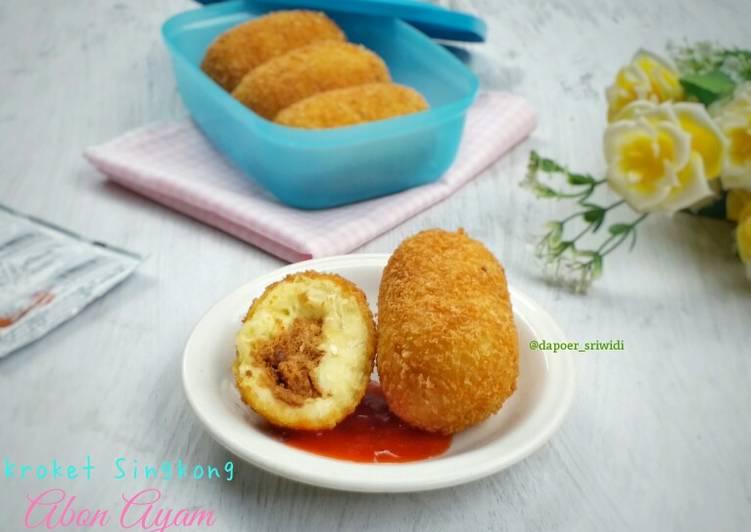 Kroket Singkong Abon Ayam