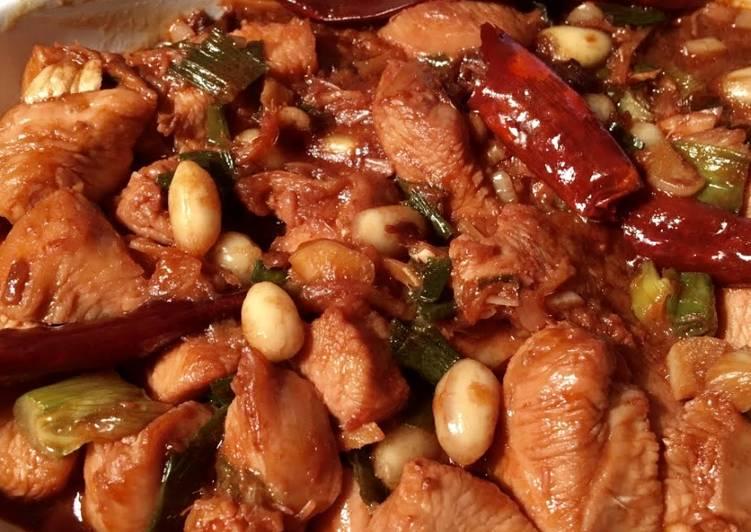 Hot Peanut Chicken