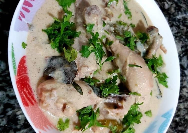 How to Prepare Recipe of Creamy chicken