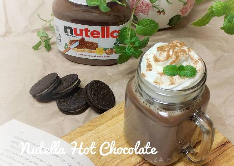 Nutella Hot Chocolate (#pr_minuman)