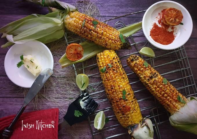 Recipe: Delicious Grilled Corn Cob