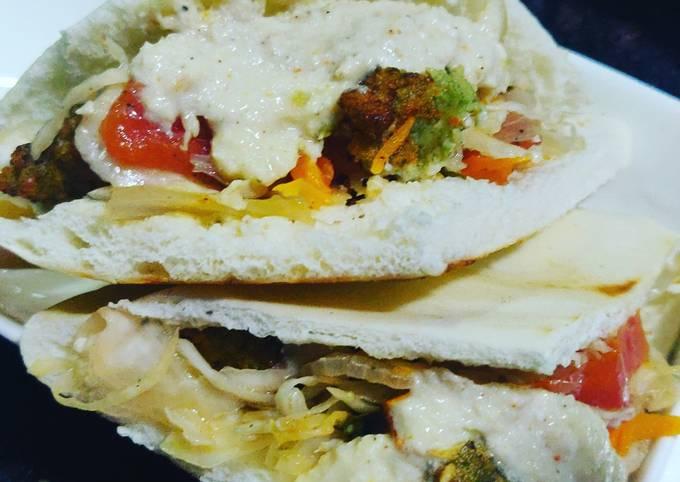 Falafal sandwich