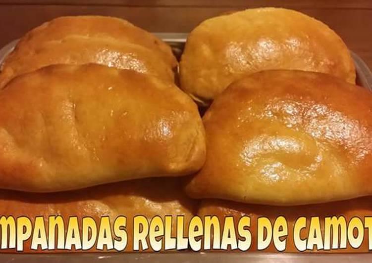 Empanadas rellenas de camote🌹
