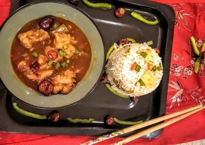 Recipe: Perfect Schezwan Chicken