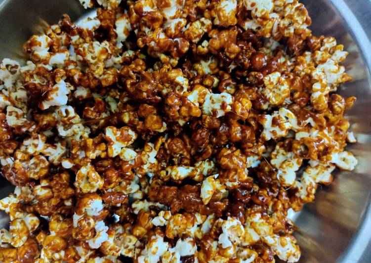 Discover How to Elevate Your Mood with Food Caramel popcorn