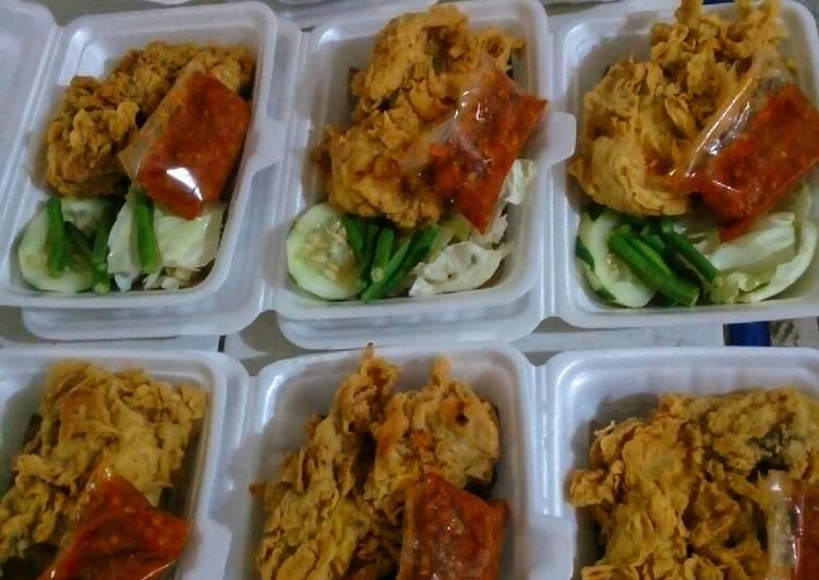 Resep Ayam geprek (untuk jualan) oleh Vita Lestari - Cookpad