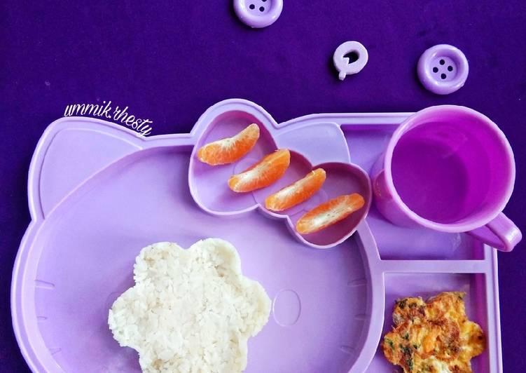 Resep Omlet sayur bawor (bayam – wortel) Yang Gampang Bikin Nagih