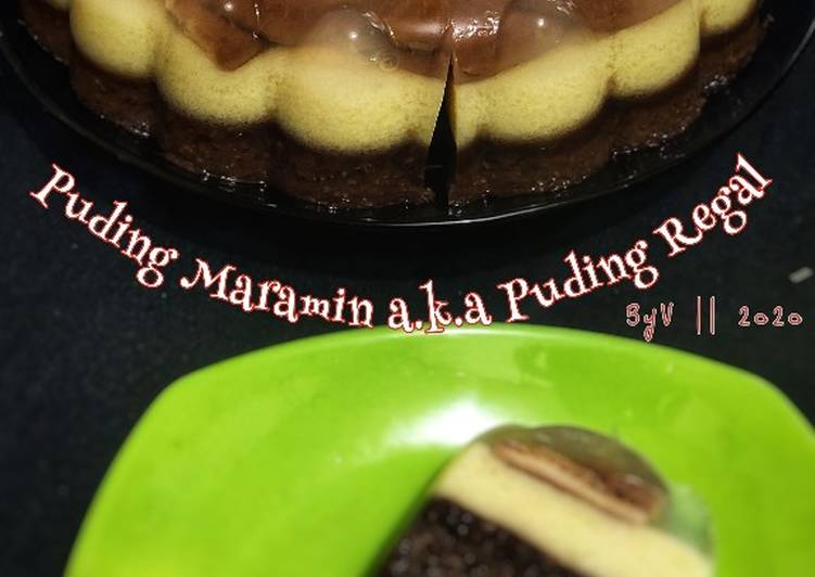 Puding Maramin a.k.a Puding Regal #Week11