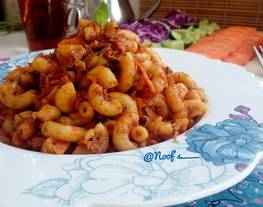 Macaroni Daging Rempah | khas Timur Tengah