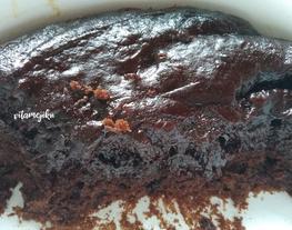 #11. Brownies Instan Pakai Pondan Brownies
